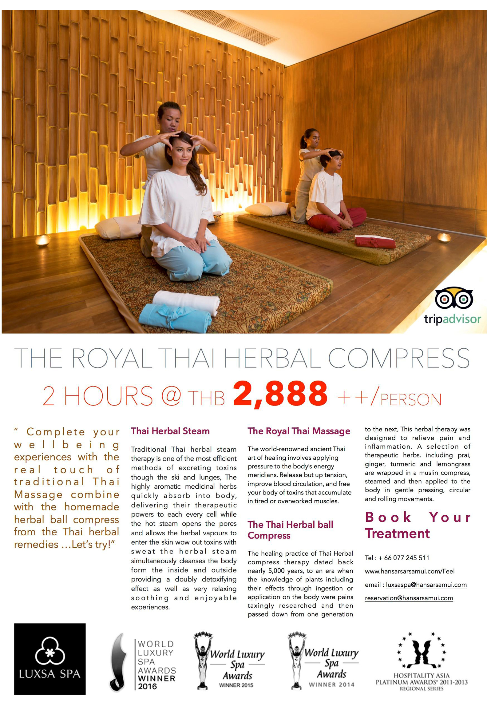 The Royal Thai Herbal Compress