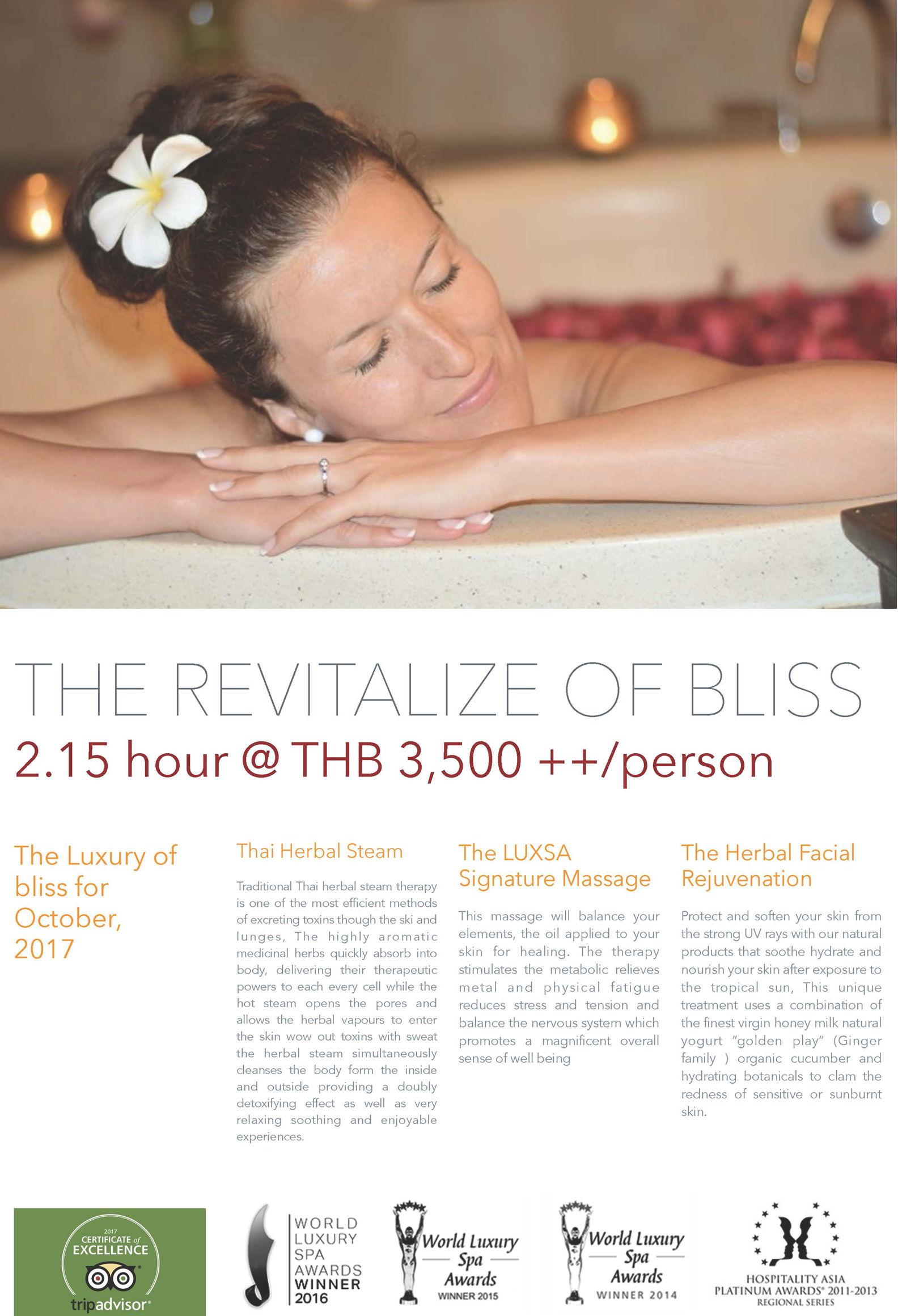 Promotion Of Luxsa Spa