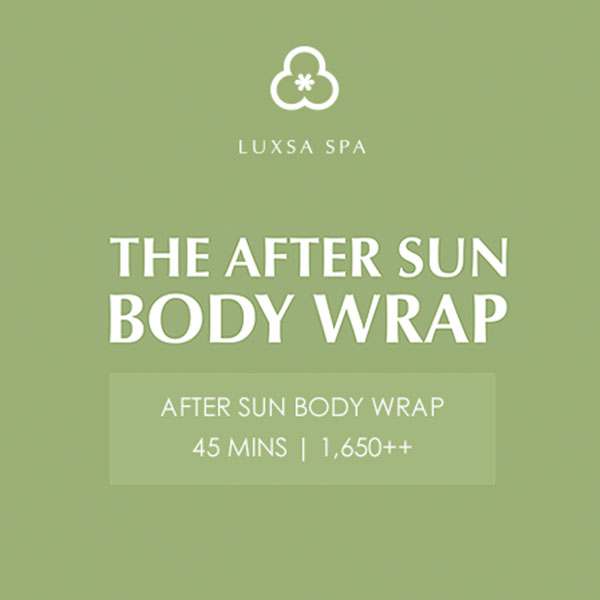 Luxsa Spa March Promotions after sun